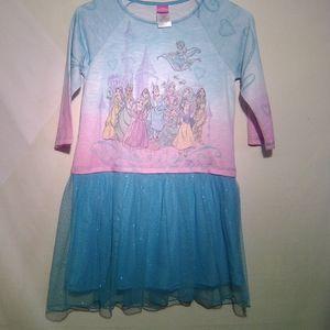 Disney princess dress with tile skirt. XL. #641